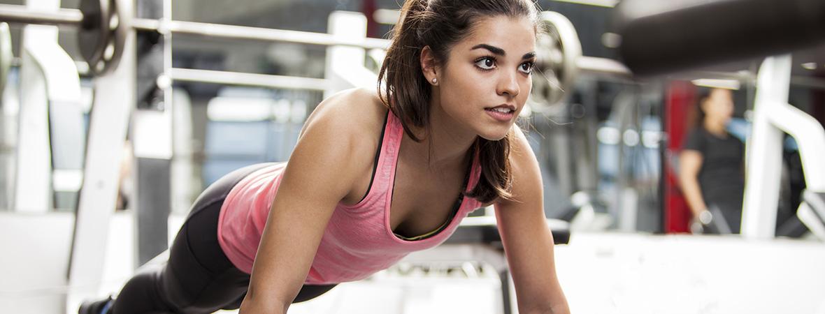 Exercise rehab push up