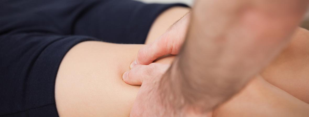 Sports injuries massage